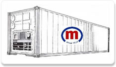 Reefer container 40 ft