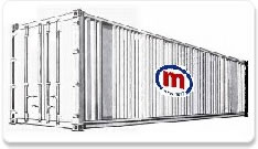 Standard container 40ft